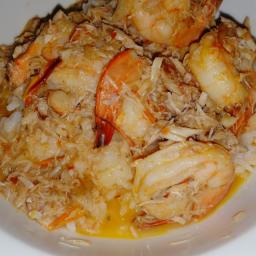 Thai Shrimp & Crab In Sweet & Spicy Sauce.