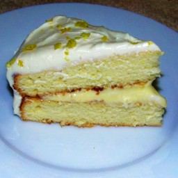 Lemon Moose Cake