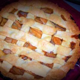 Salted Caramel Beehive Pie