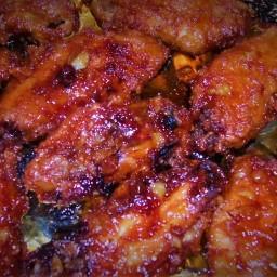 Crispy Honey Chicken wings