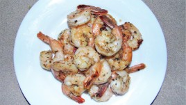 Lemon Pepper Shrimp