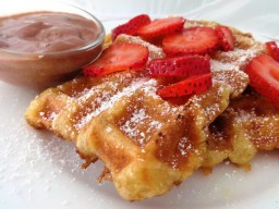 Croissants French Toast Waffles